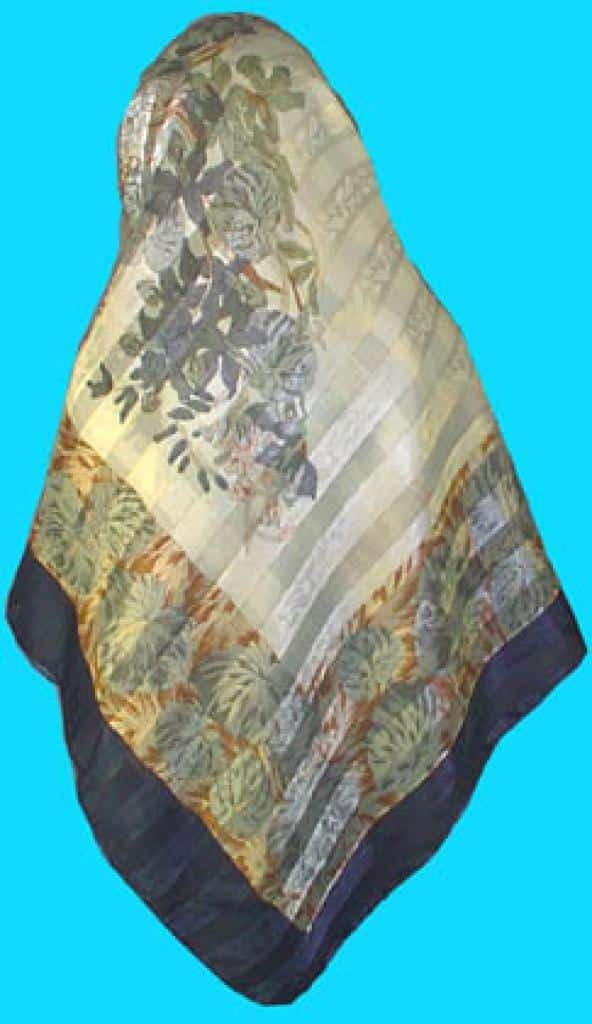 Beautiful Satin striped Hijab hi139