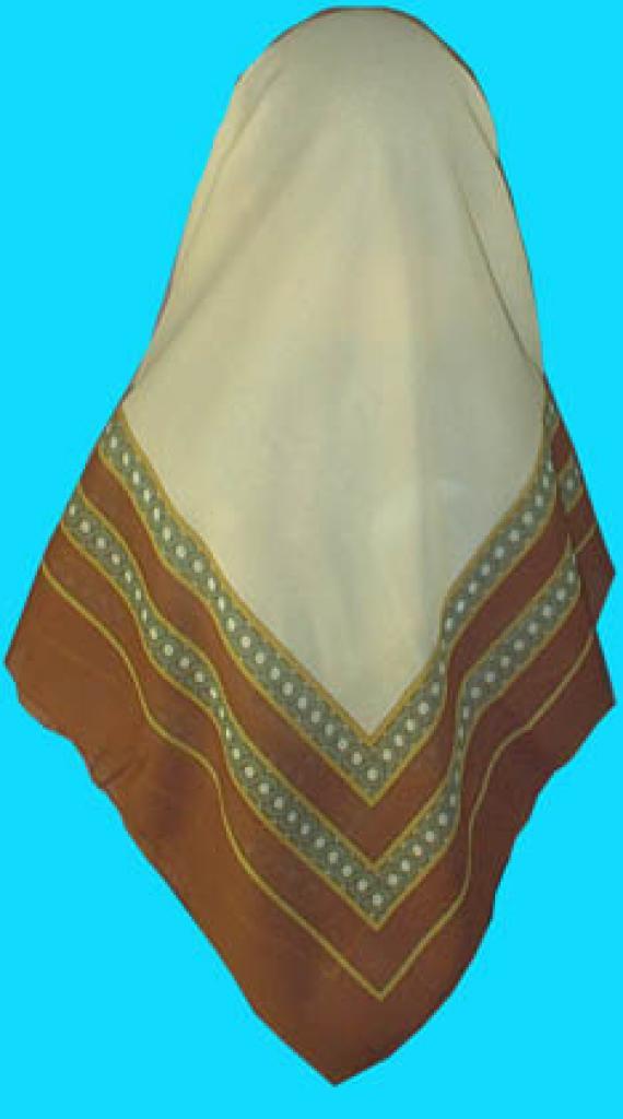 Reversable Syrian Chiffon Hijab  hi140