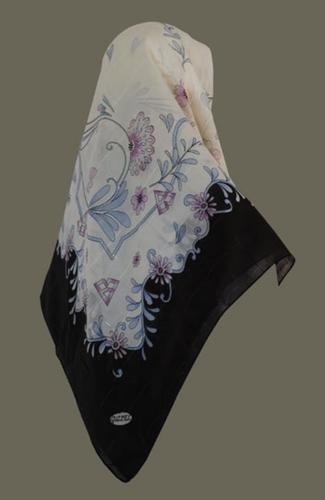 Chiffon Georgette Hijab hi1422