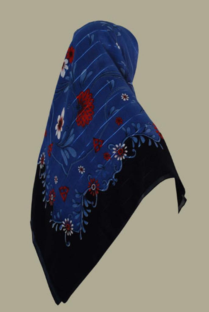 Chiffon Georgette Hijab hi1423