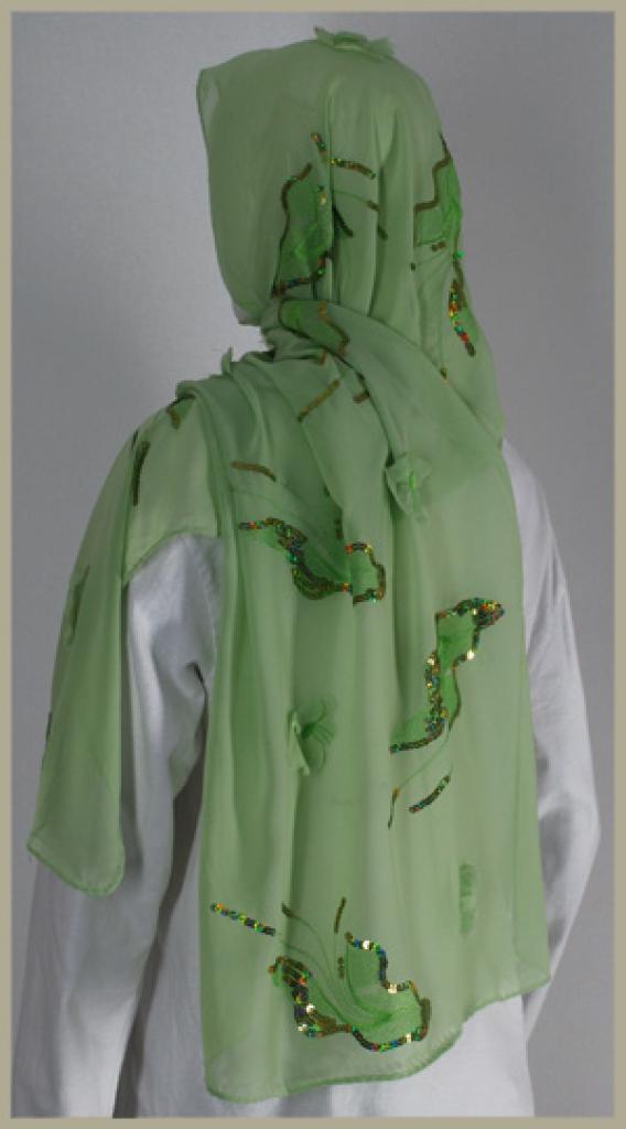 Chiffon Shayla Wrap Hijab hi1430