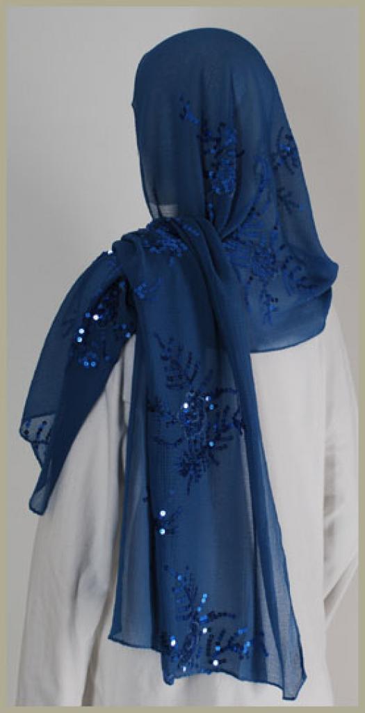 Chiffon Shayla Wrap Hijab hi1431
