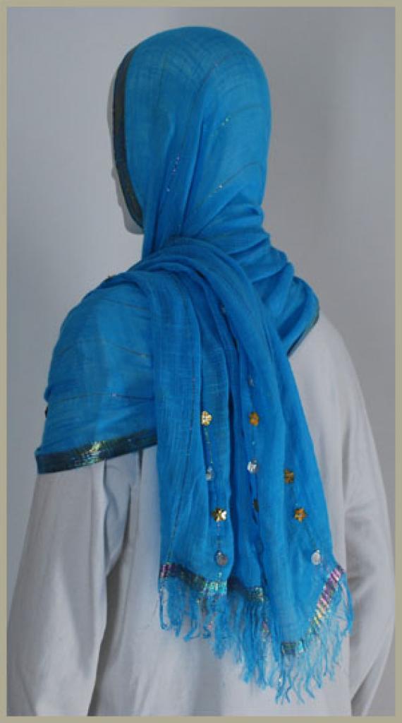Acrylic Shayla Wrap Hijab hi1432