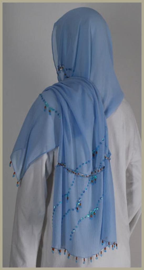 Chiffon Shayla Wrap Hijab hi1433