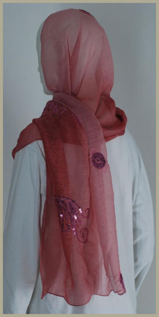 Chiffon Shayla Wrap Hijab hi1434