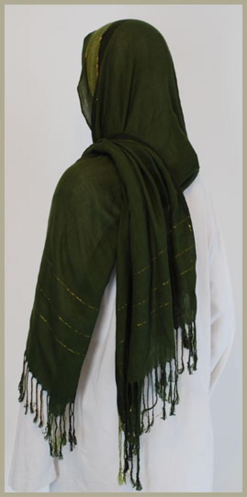 Acrylic Shayla Wrap Hijab hi1438