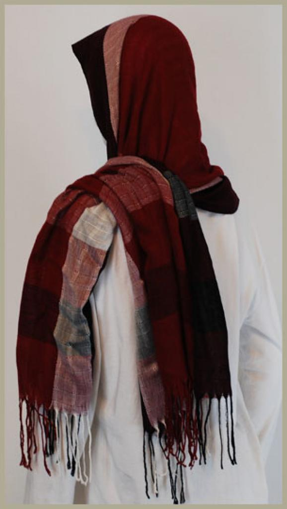 Acrylic Shayla Wrap Hijab hi1439