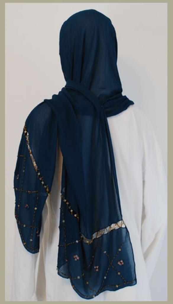 Chiffon Shayla Wrap Hijab hi1441