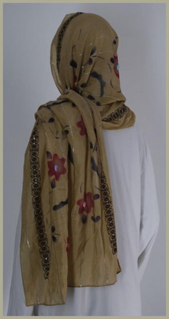 Chiffon Shayla Wrap Hijab hi1443