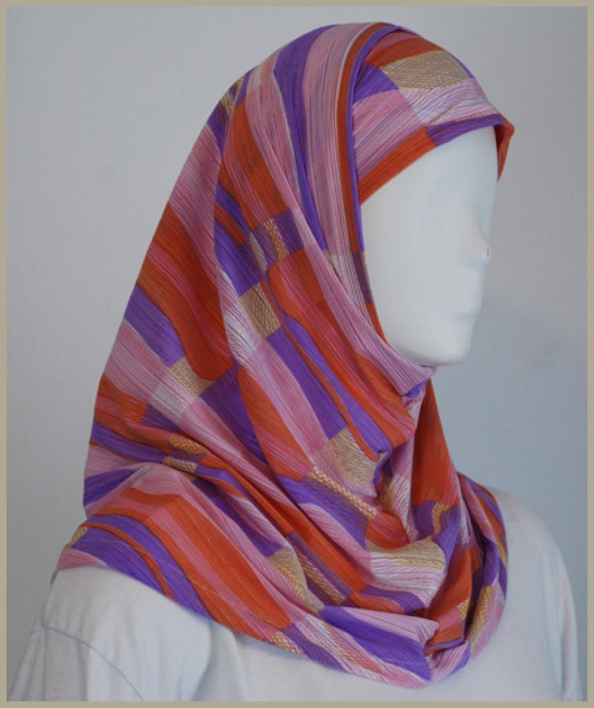Al Amira 2 Piece Religious Veil hi1452
