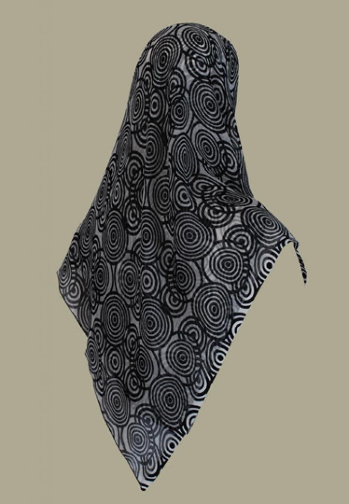 Chiffon Georgette Hijab hi1456