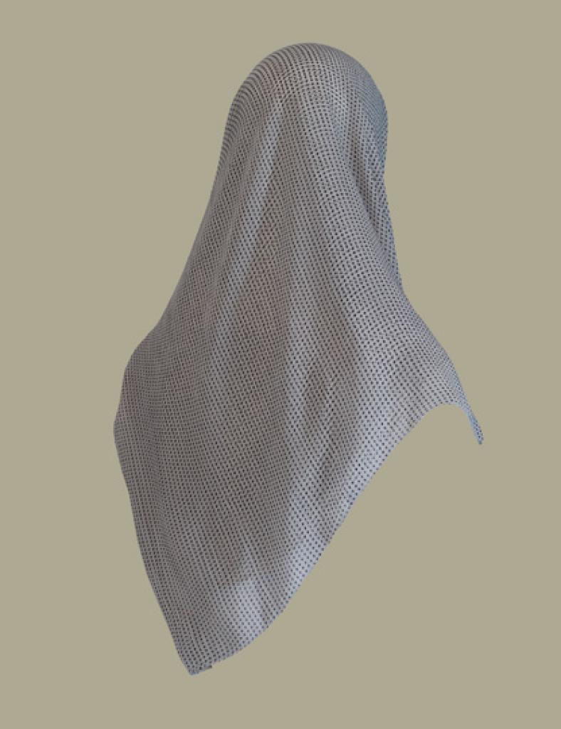 Chiffon Georgette Hijab hi1457