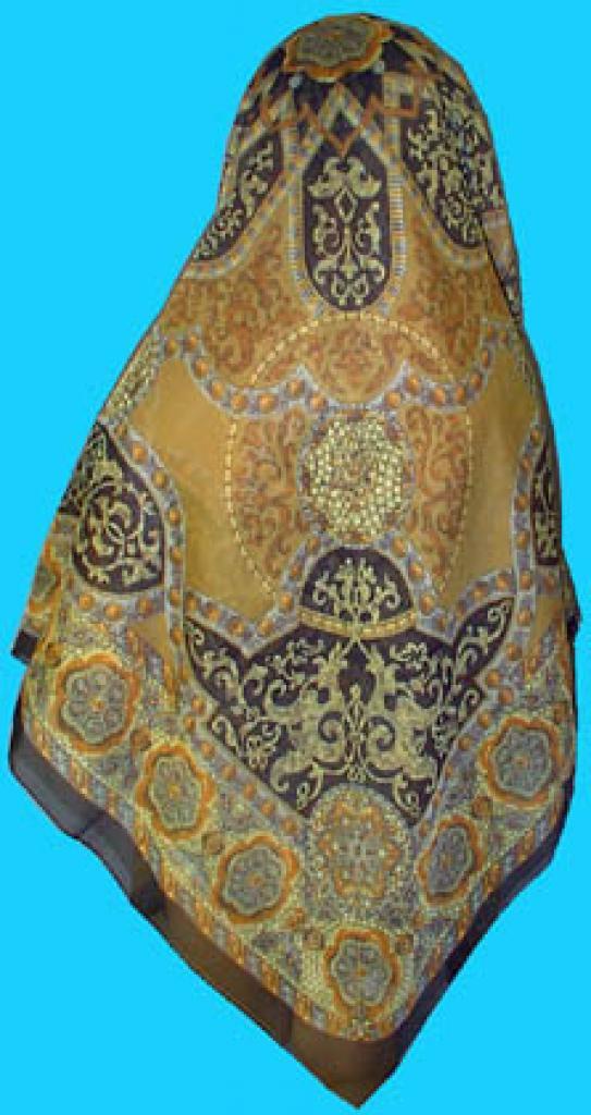 Deluxe Italian Chiffon Hijab hi145