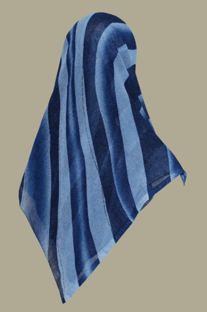 Chiffon Georgette Hijab hi1469