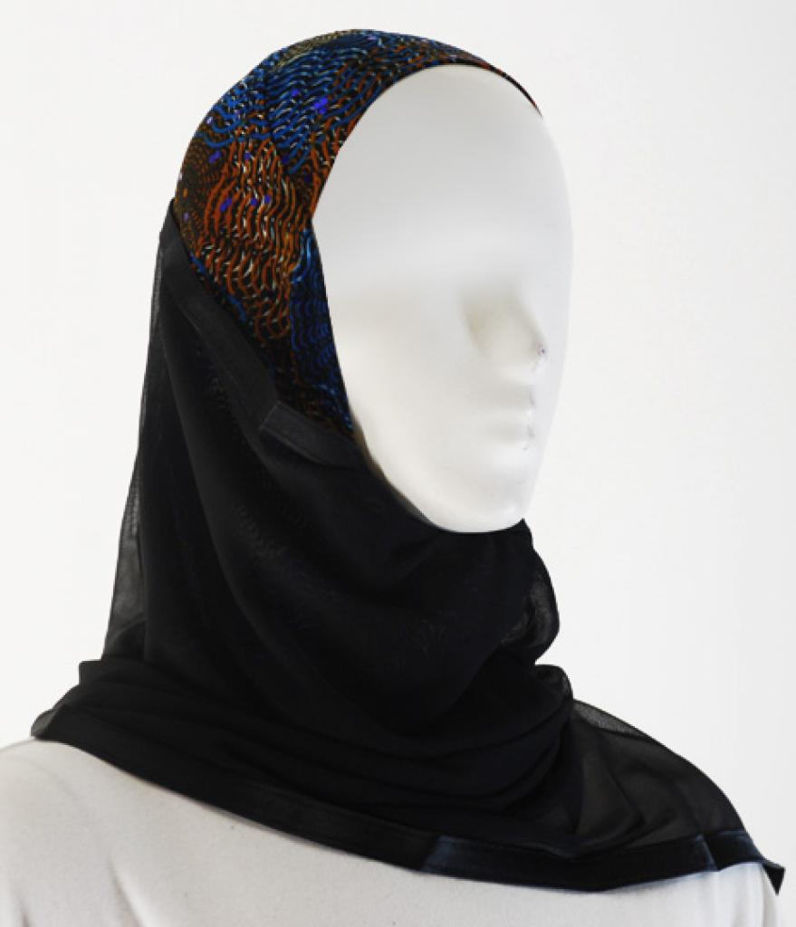 Kuwaiti Style Shayla Wrap hi1516