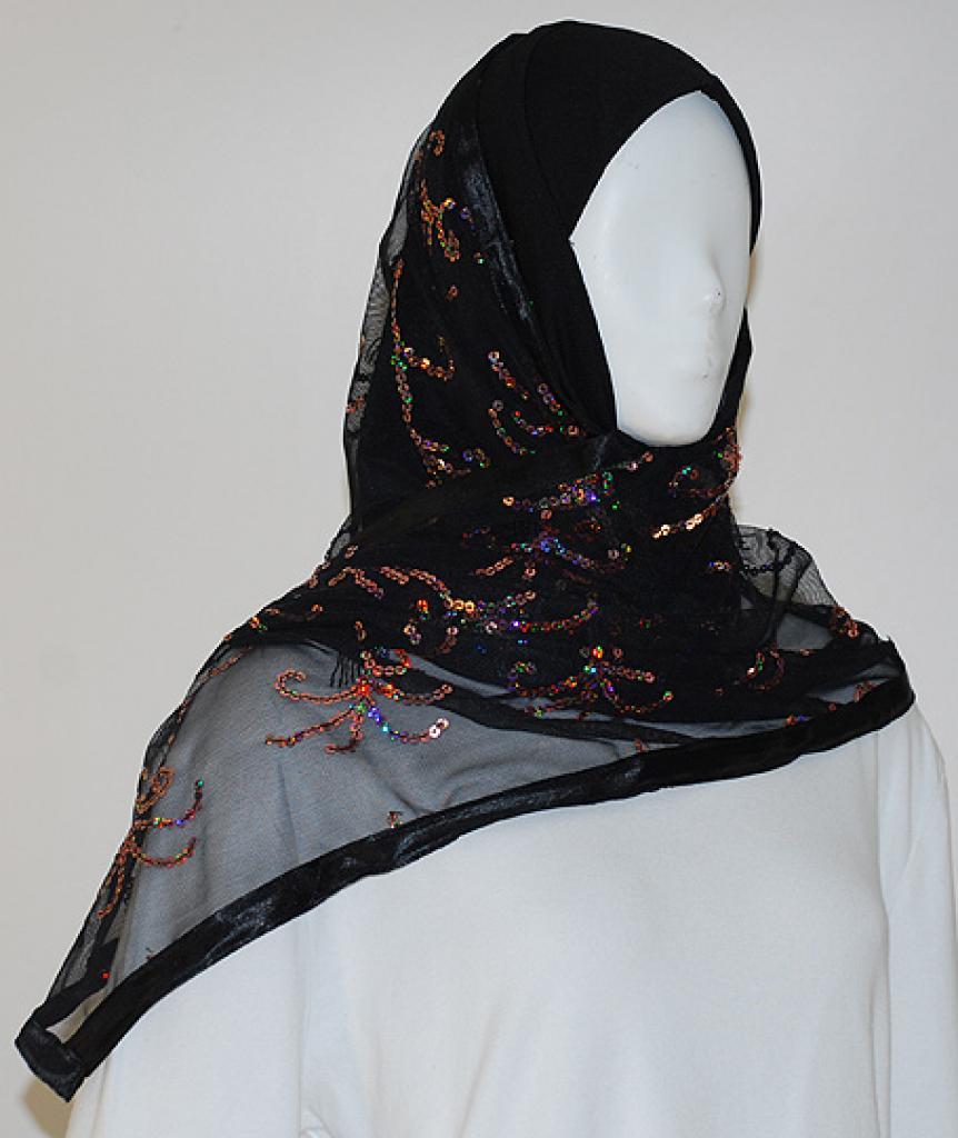 Kuwaiti Style Shayla Wrap hi1518