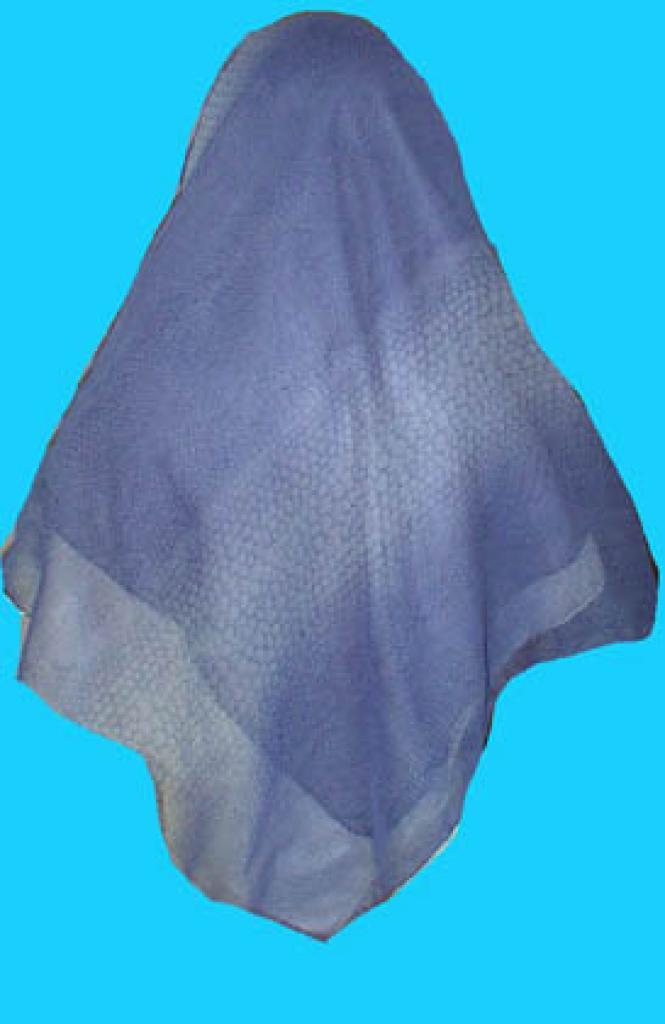 The two tone Turkish cotton gauze hijab hi151