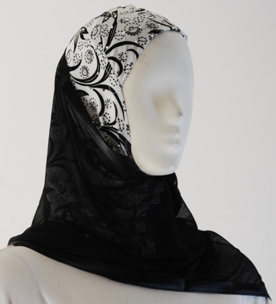 Kuwaiti Style Shayla Wrap hi1520