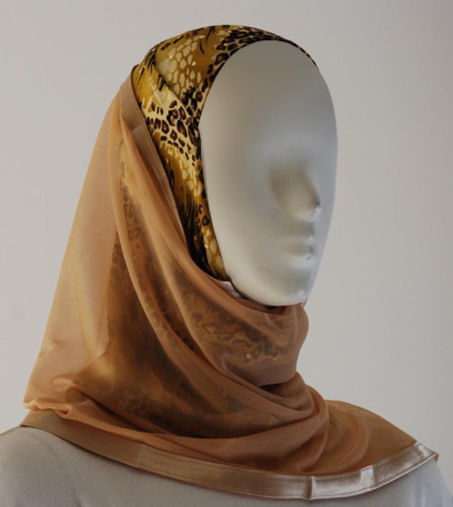 Kuwaiti Style Shayla Wrap hi1521