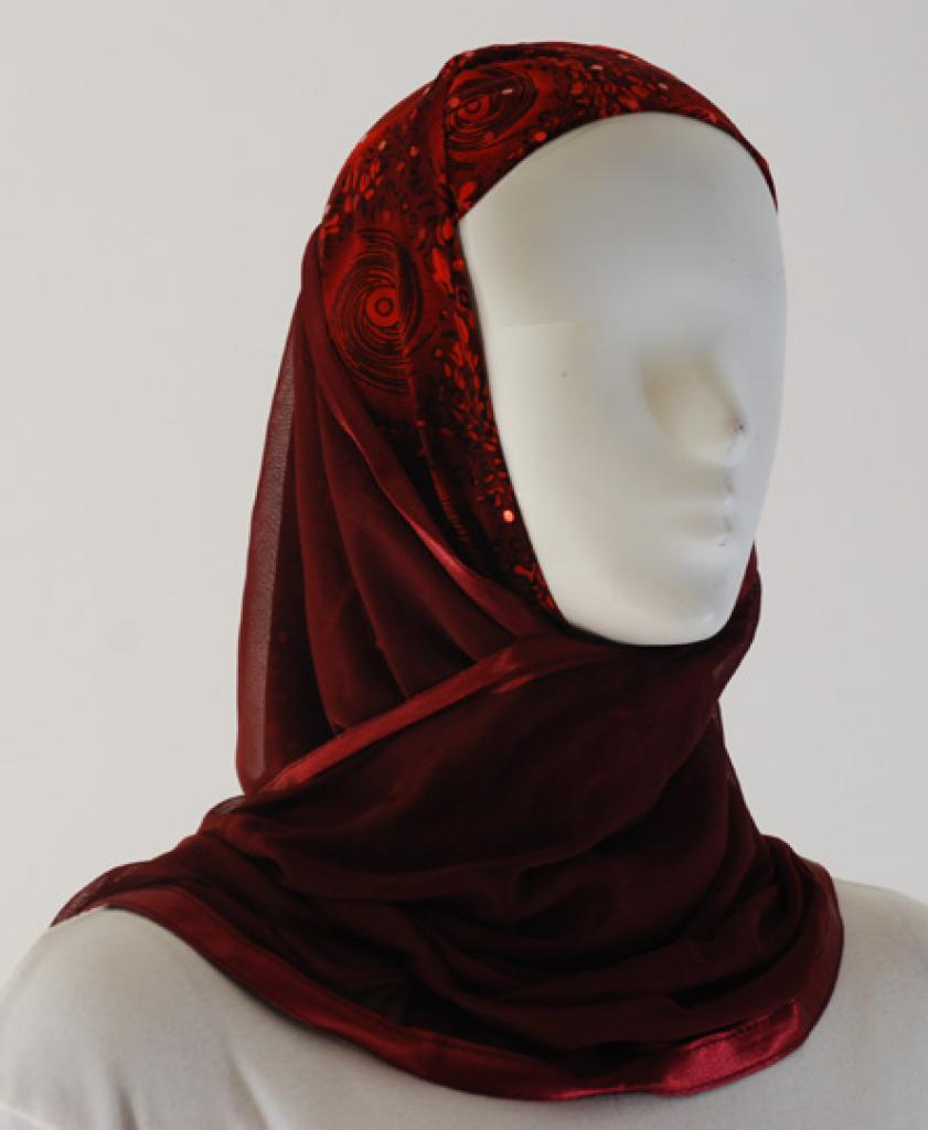Kuwaiti Style Shayla Wrap hi1522