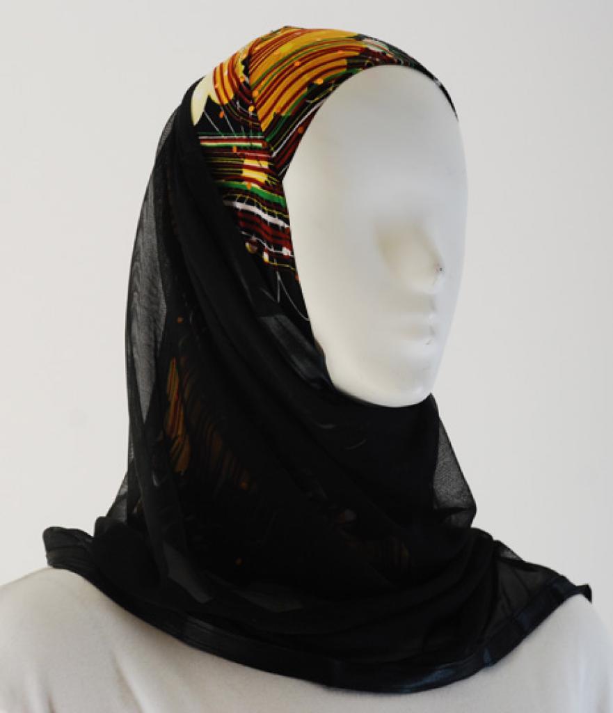 Kuwaiti Style Shayla Wrap hi1523