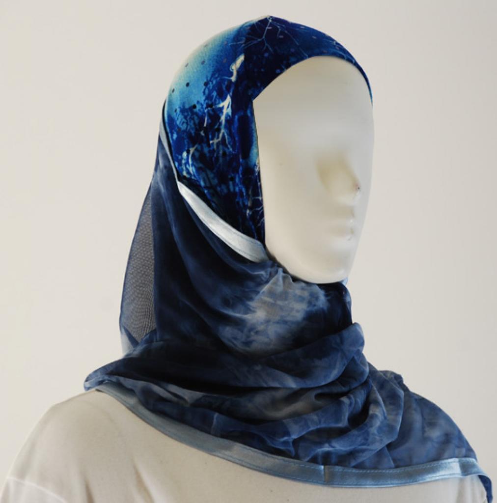 Kuwaiti Style Shayla Wrap hi1526