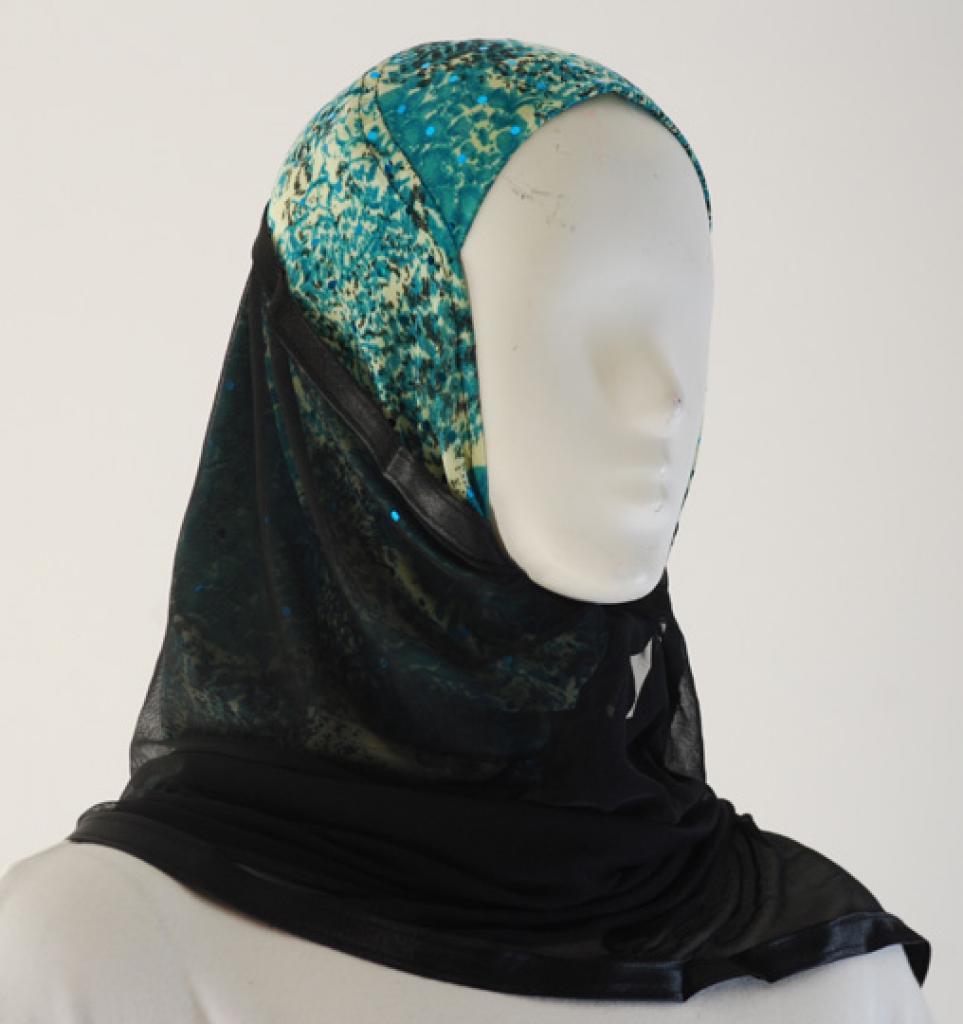 Kuwaiti Style Shayla Wrap hi1530