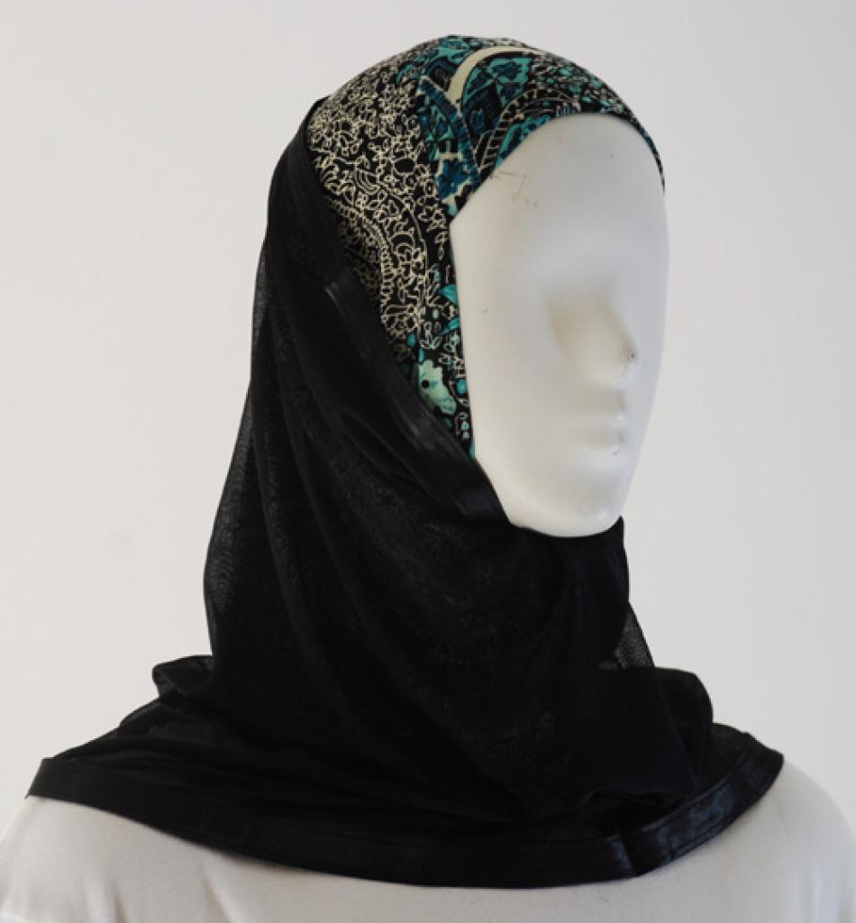 Kuwaiti Style Shayla Wrap  hi1533