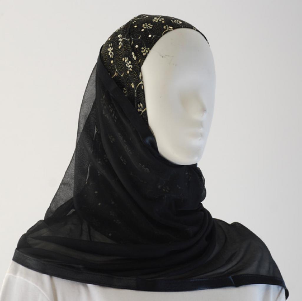 Kuwaiti Style Shayla Wrap  hi1537
