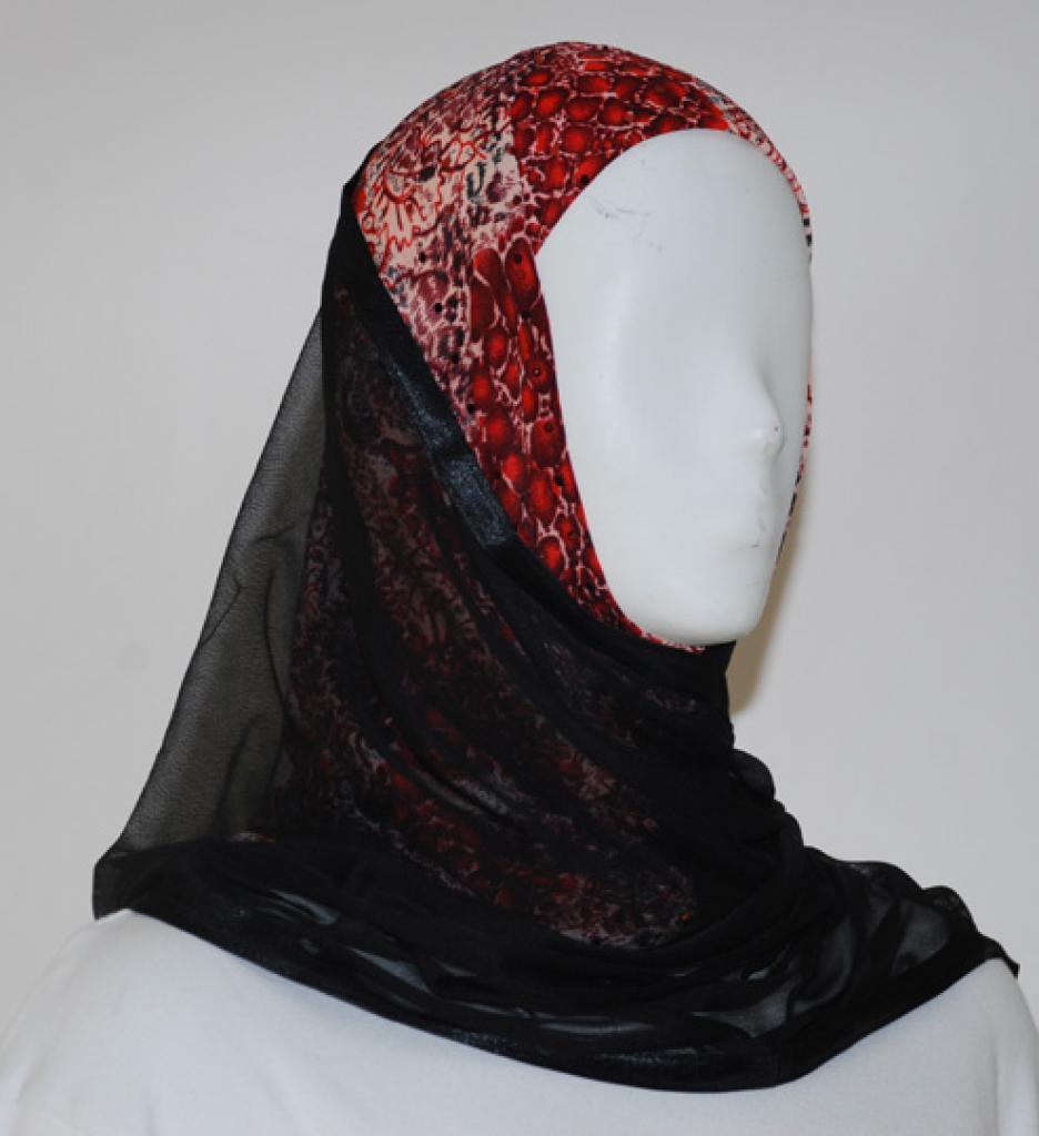 Kuwaiti Style Shayla Wrap  hi1538