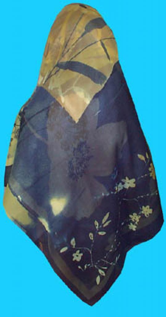 Floral Turkish Hijab  hi153