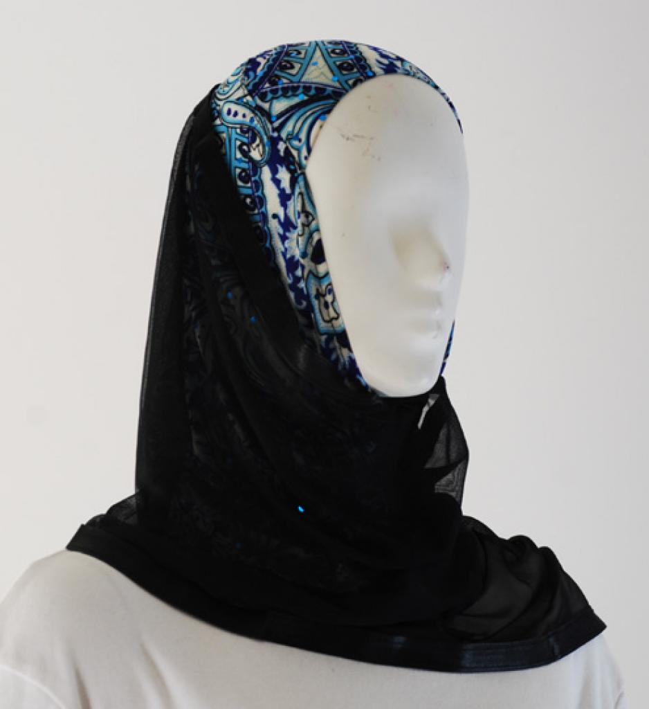 Kuwaiti Style Shayla Wrap  hi1542