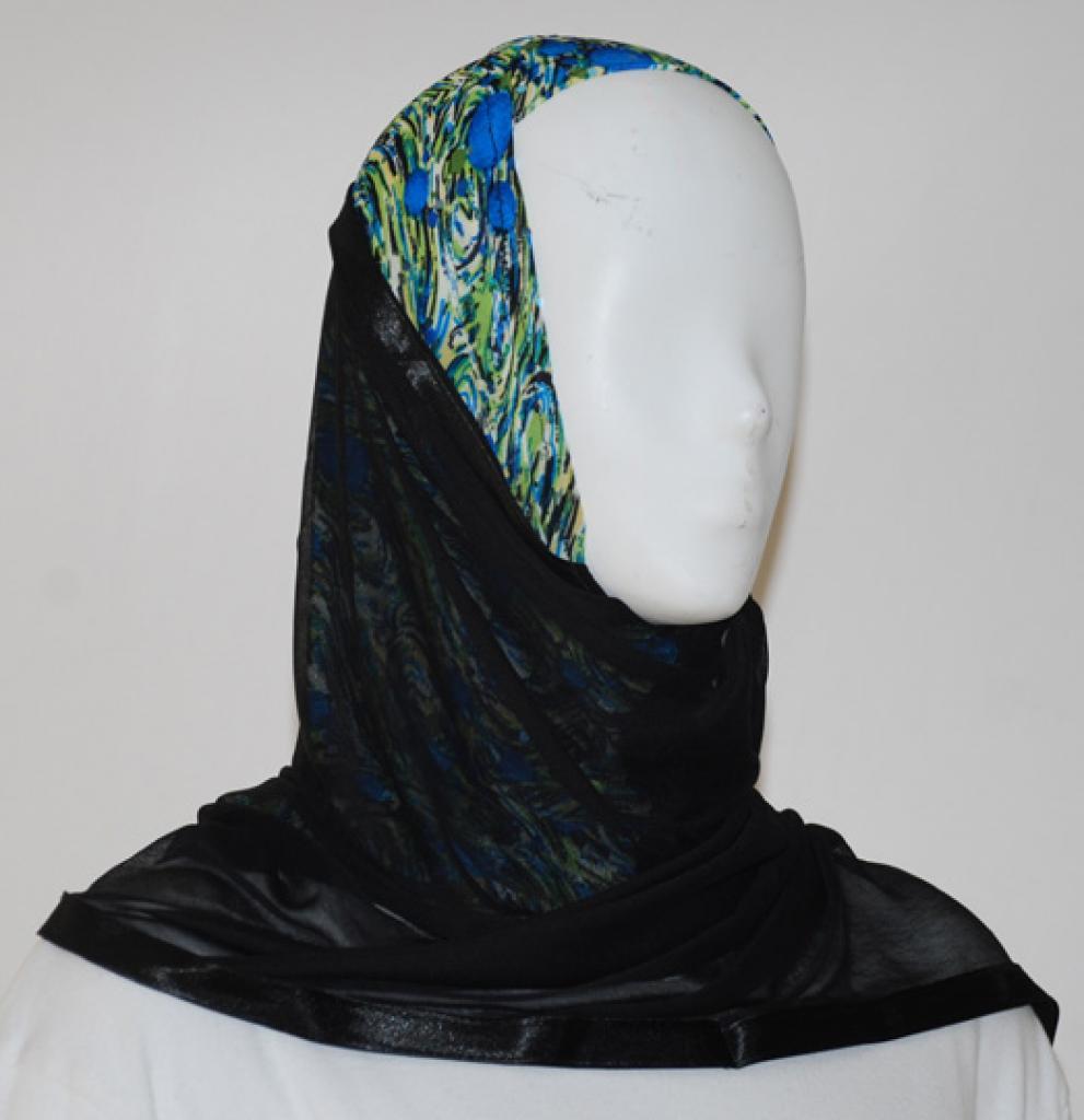 Kuwaiti Style Shayla Wrap  hi1543