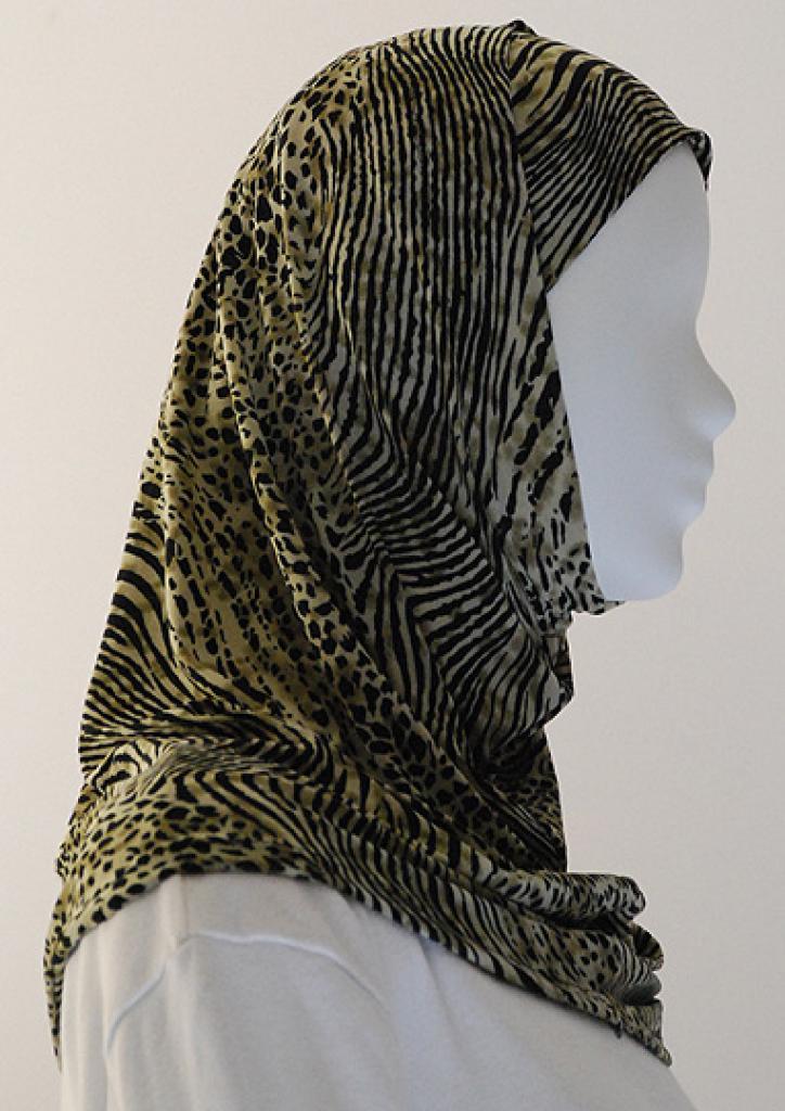 Lycra Al Amirah Hijab hi1548