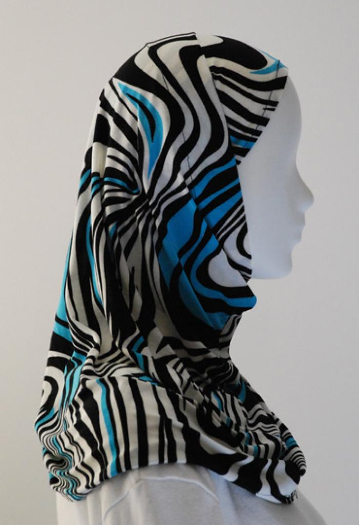 Lycra Al Amirah Hijab hi1550
