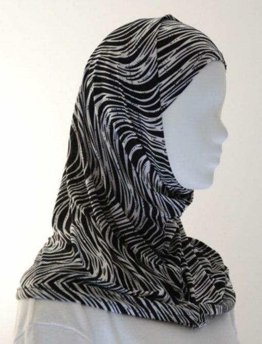 Lycra Al Amirah Hijab hi1552