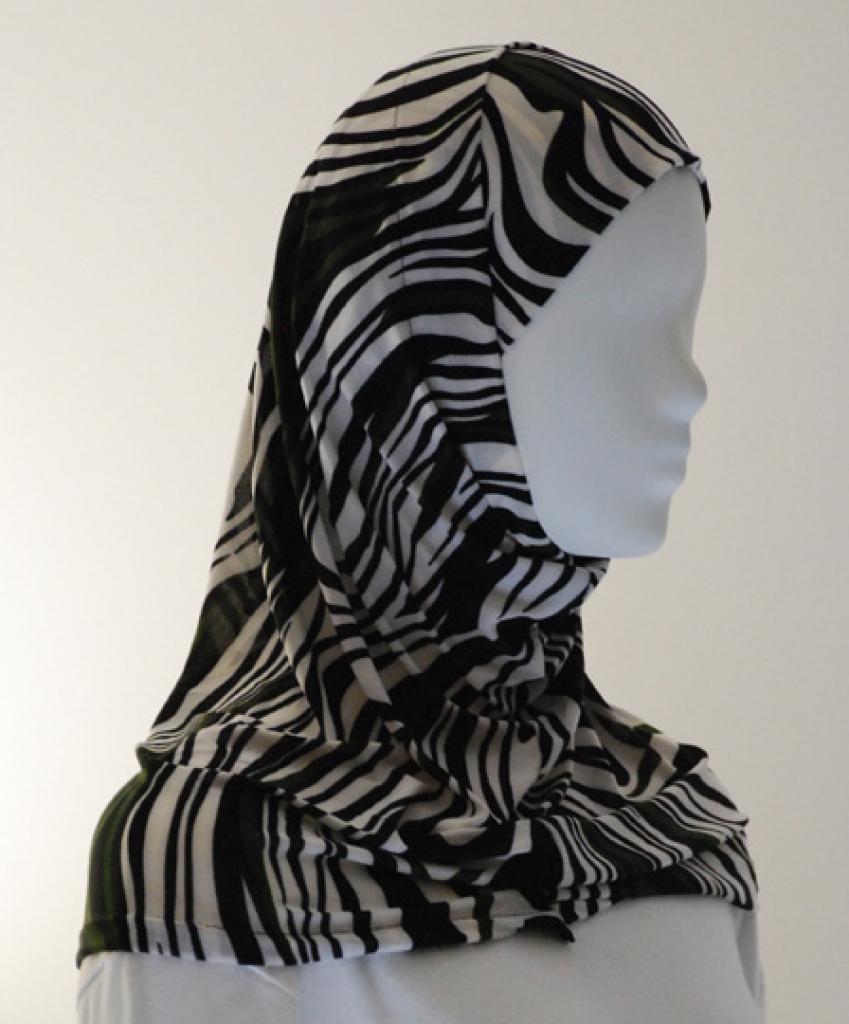 Lycra Al Amirah Hijab hi1553