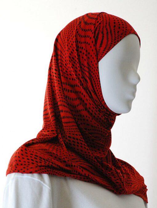 Lycra Al Amirah Hijab hi1555