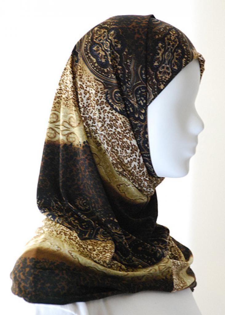 Lycra Al Amirah Hijab hi1557