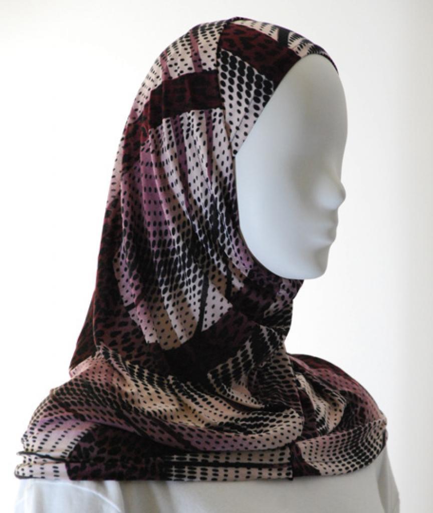 Lycra Al Amirah Hijab hi1559