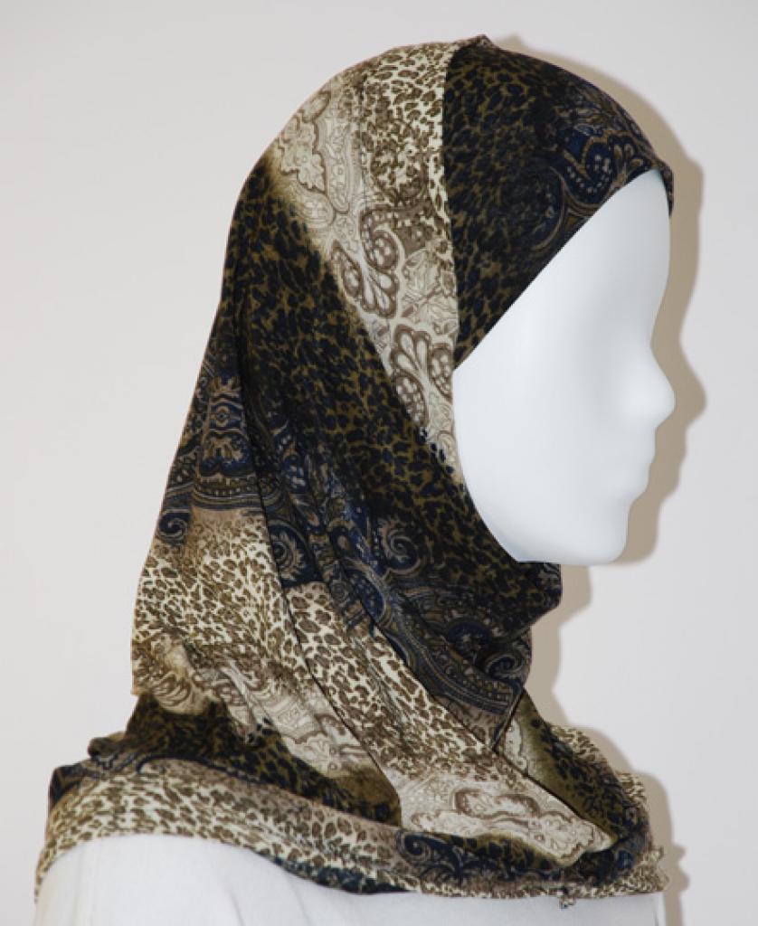 Lycra Al Amirah Hijab hi1562