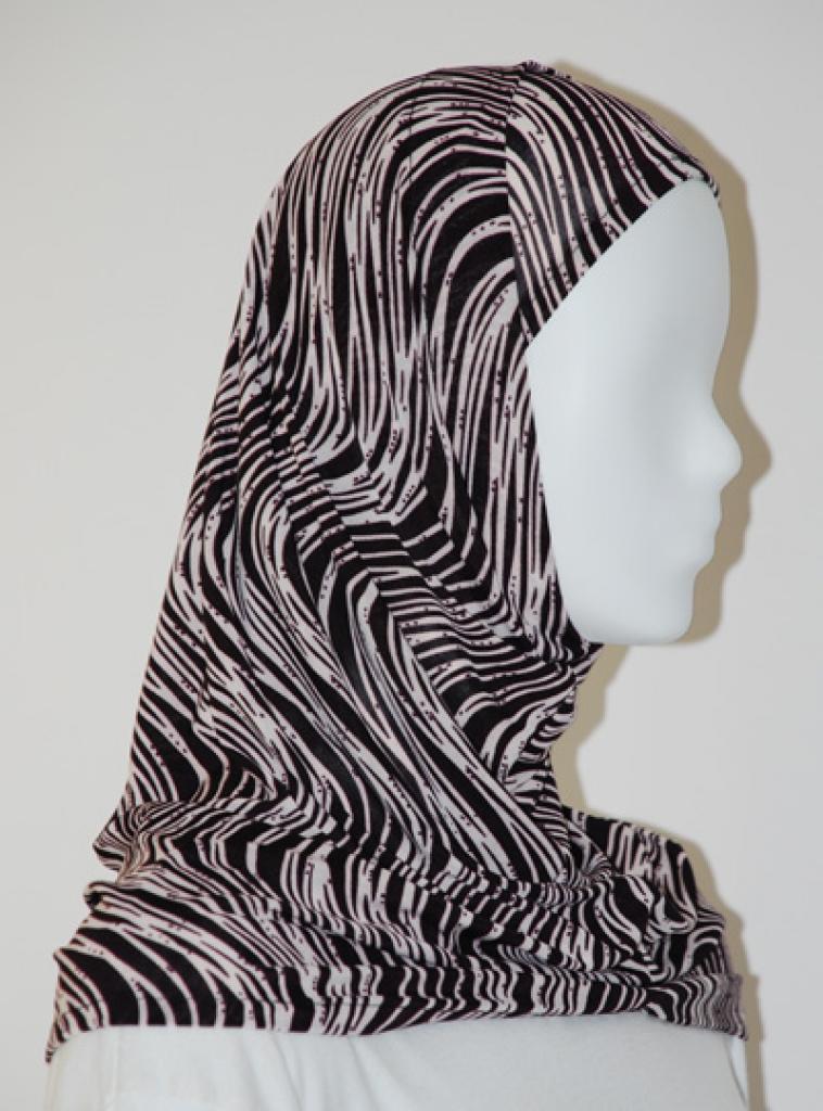 Lycra Al Amirah Hijab hi1570