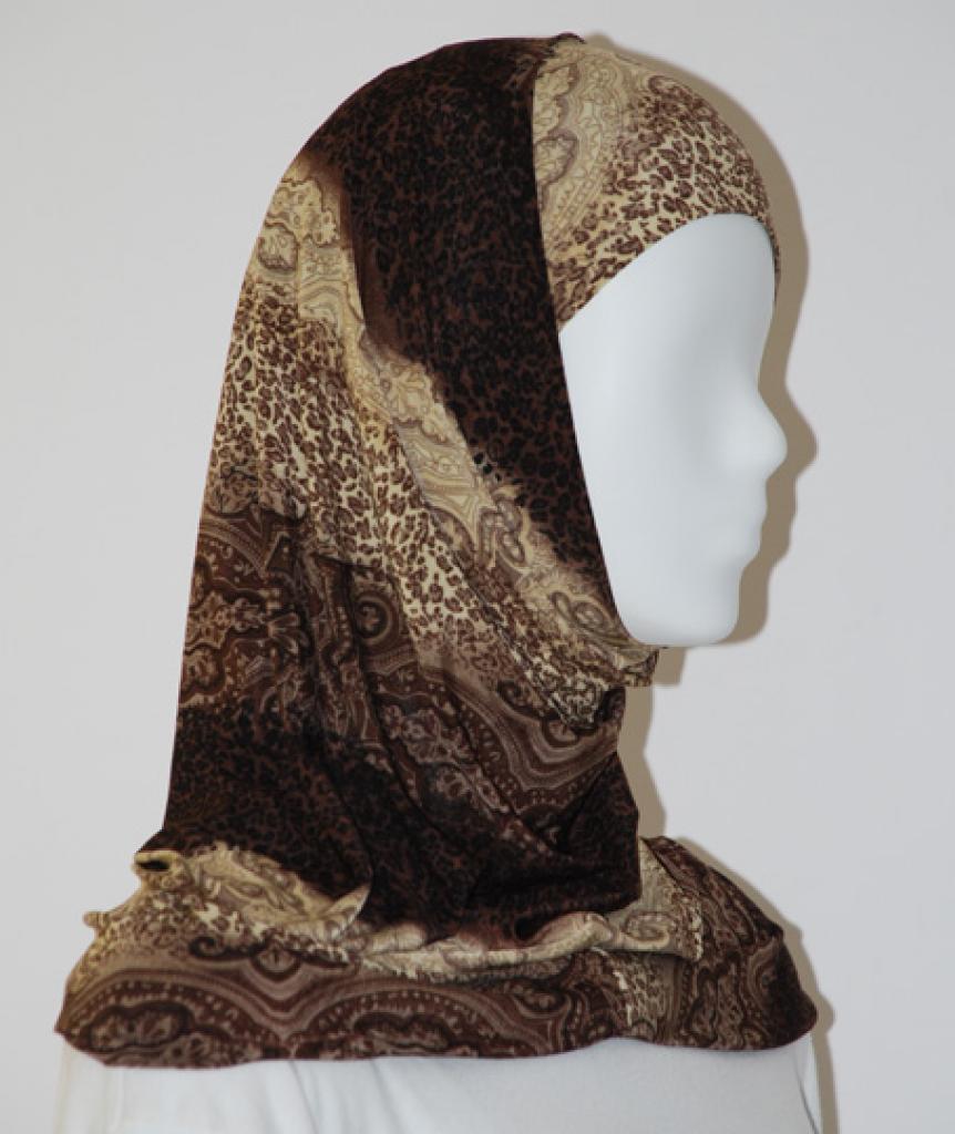 Lycra Al Amirah Hijab hi1573