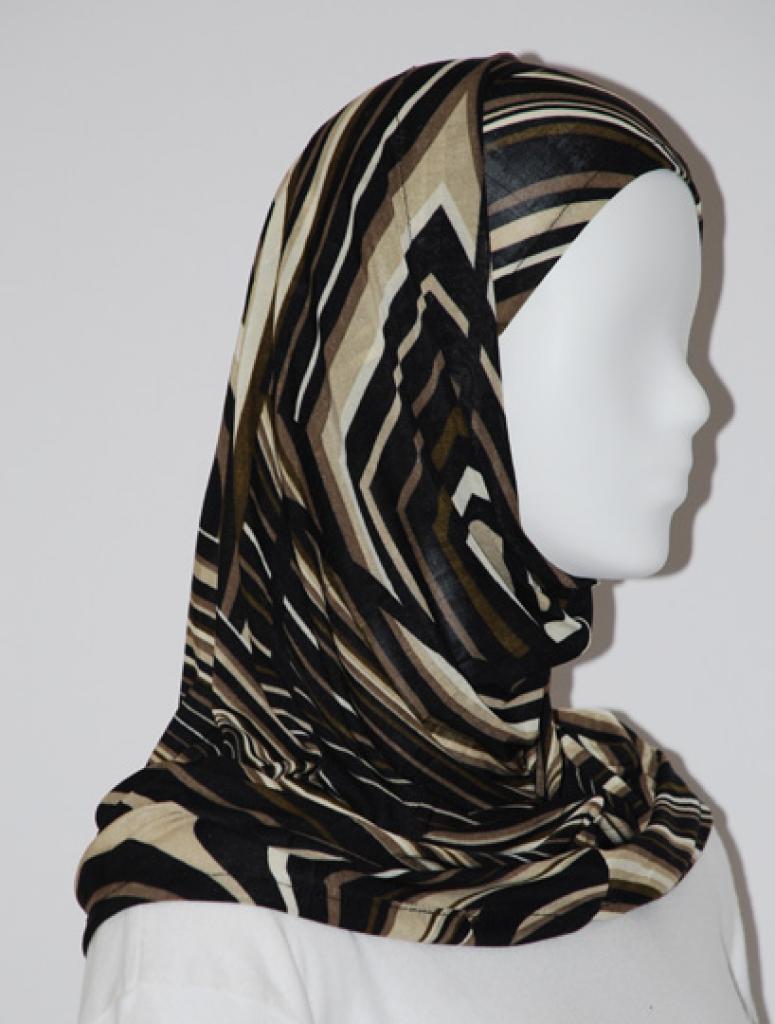 Lycra Al Amirah Hijab hi1575
