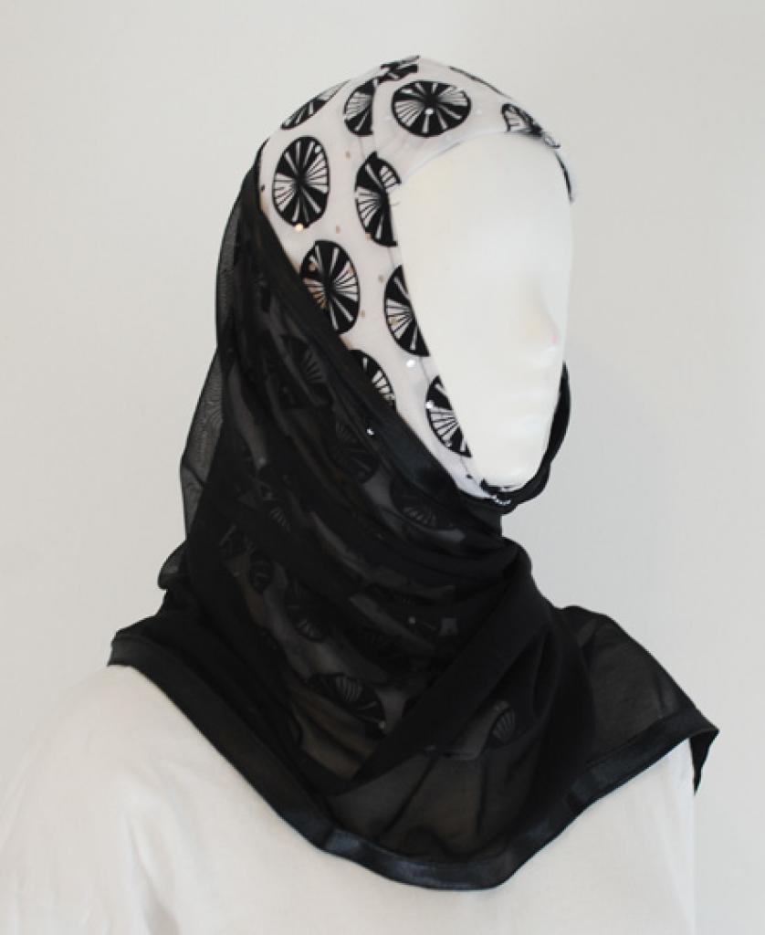 Kuwaiti Style Shayla Wrap  hi1589