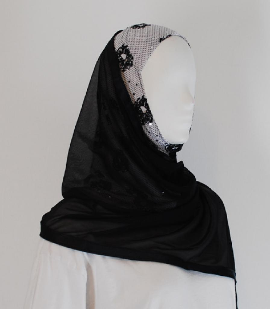 Kuwaiti Style Shayla Wrap  hi1590