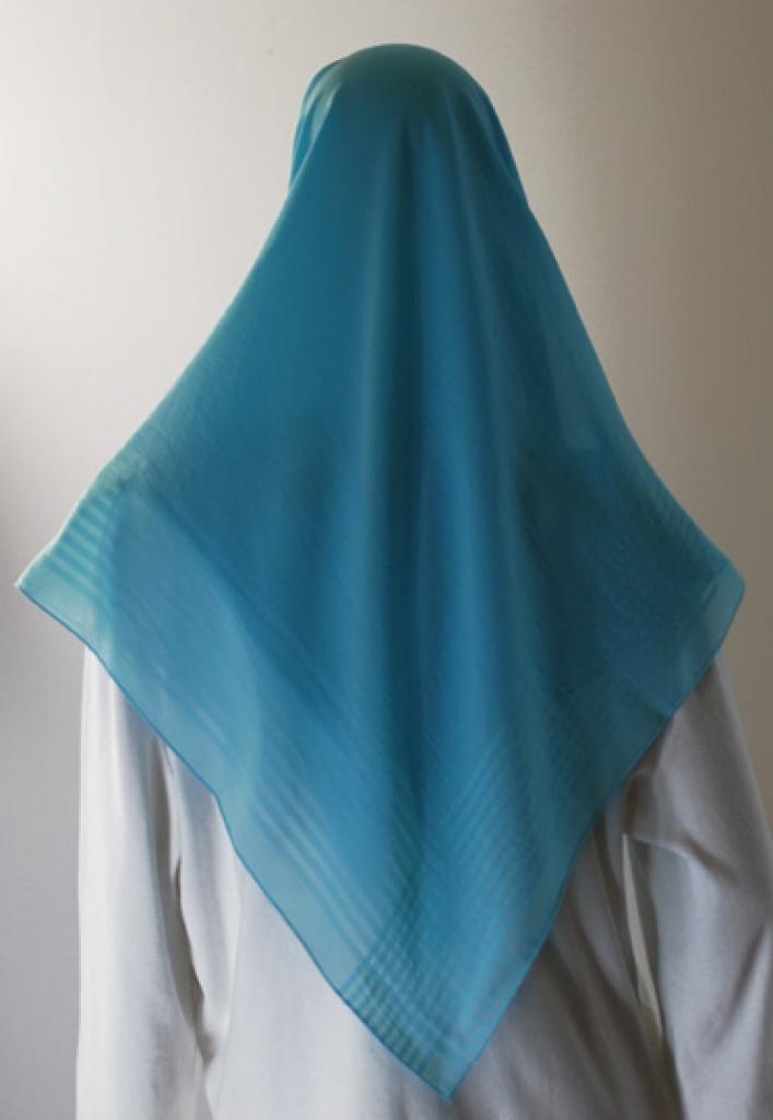 Solid Color Chiffon Hijab hi1600