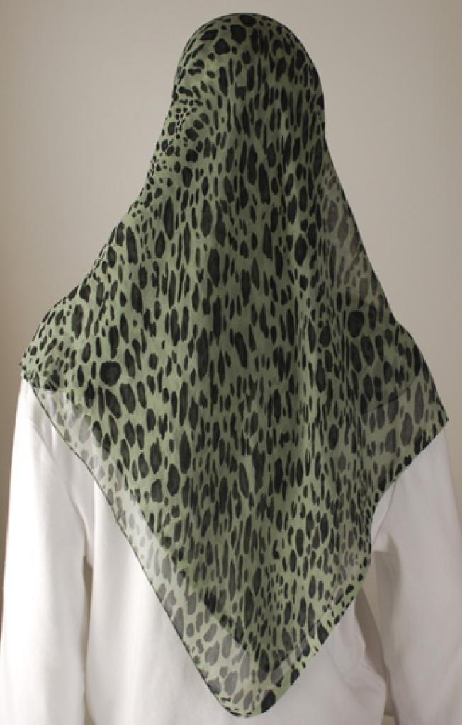 Chiffon Georgette Hijab hi1601