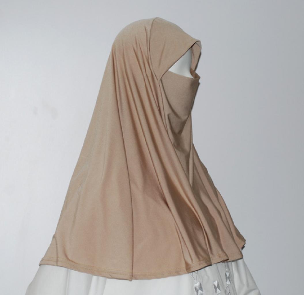 Al-Amirah Iranian style Full-Coverage Hijab   hi1611