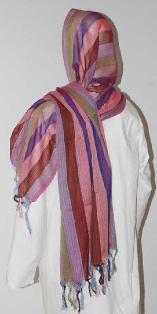 Striped Cotton Blend Shayla  hi1618